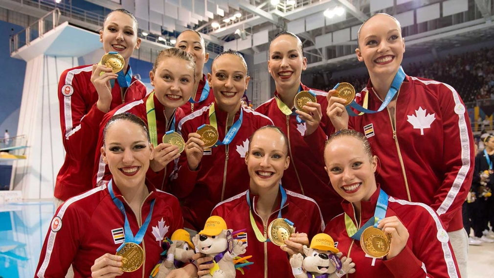 Synchro team comes through and defends Pan Am gold