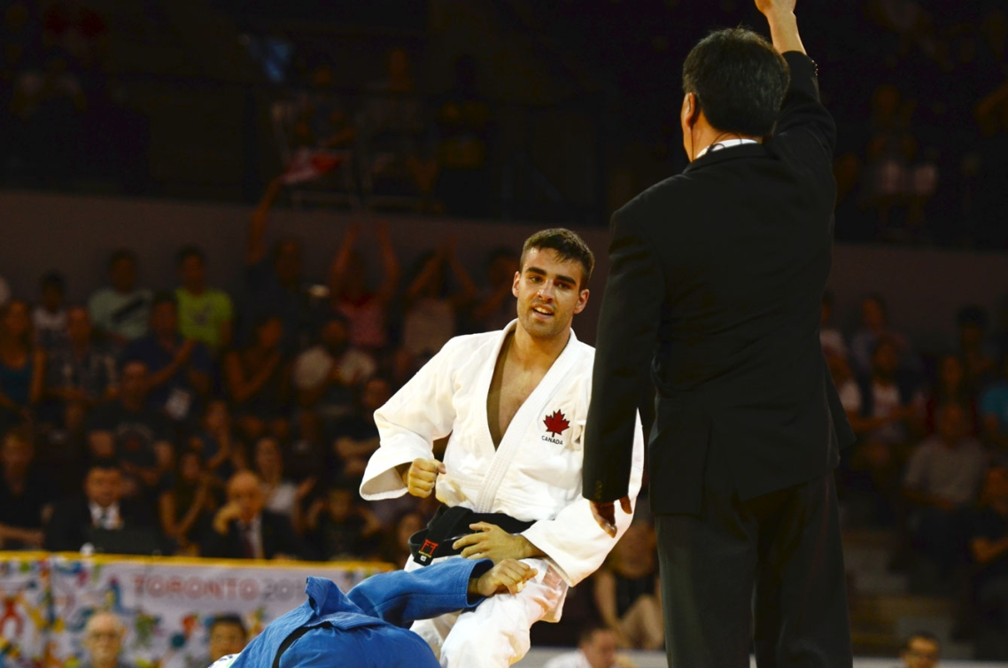 Antoine Bouchard fought his way to a silver medal today.