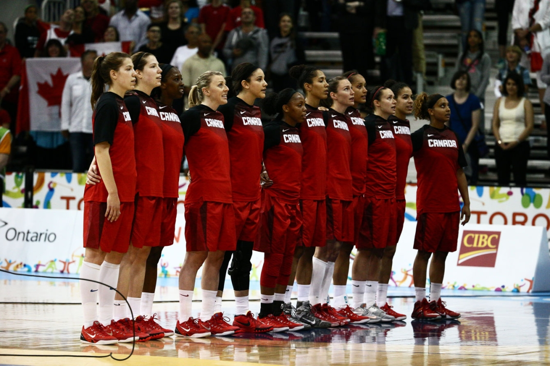 The women's basketball team have advanced to play for gold against the USA on Monday. (Photo: John Fernandez)