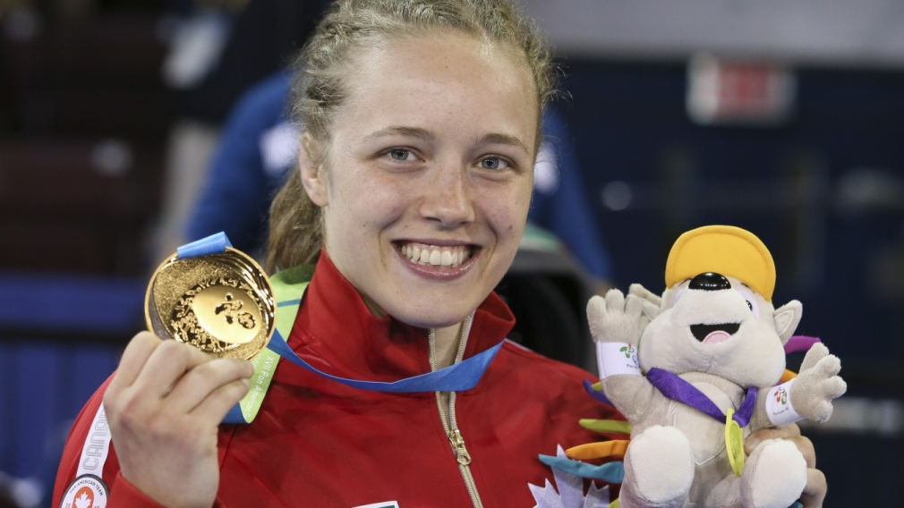 Help Build an Olympian: Dori Yeats wrestles her way to Pan Am gold