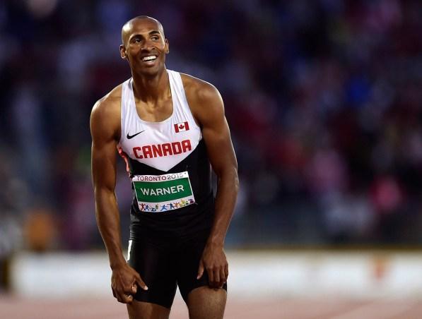 Damian Warner - Pan Am record - decathlon