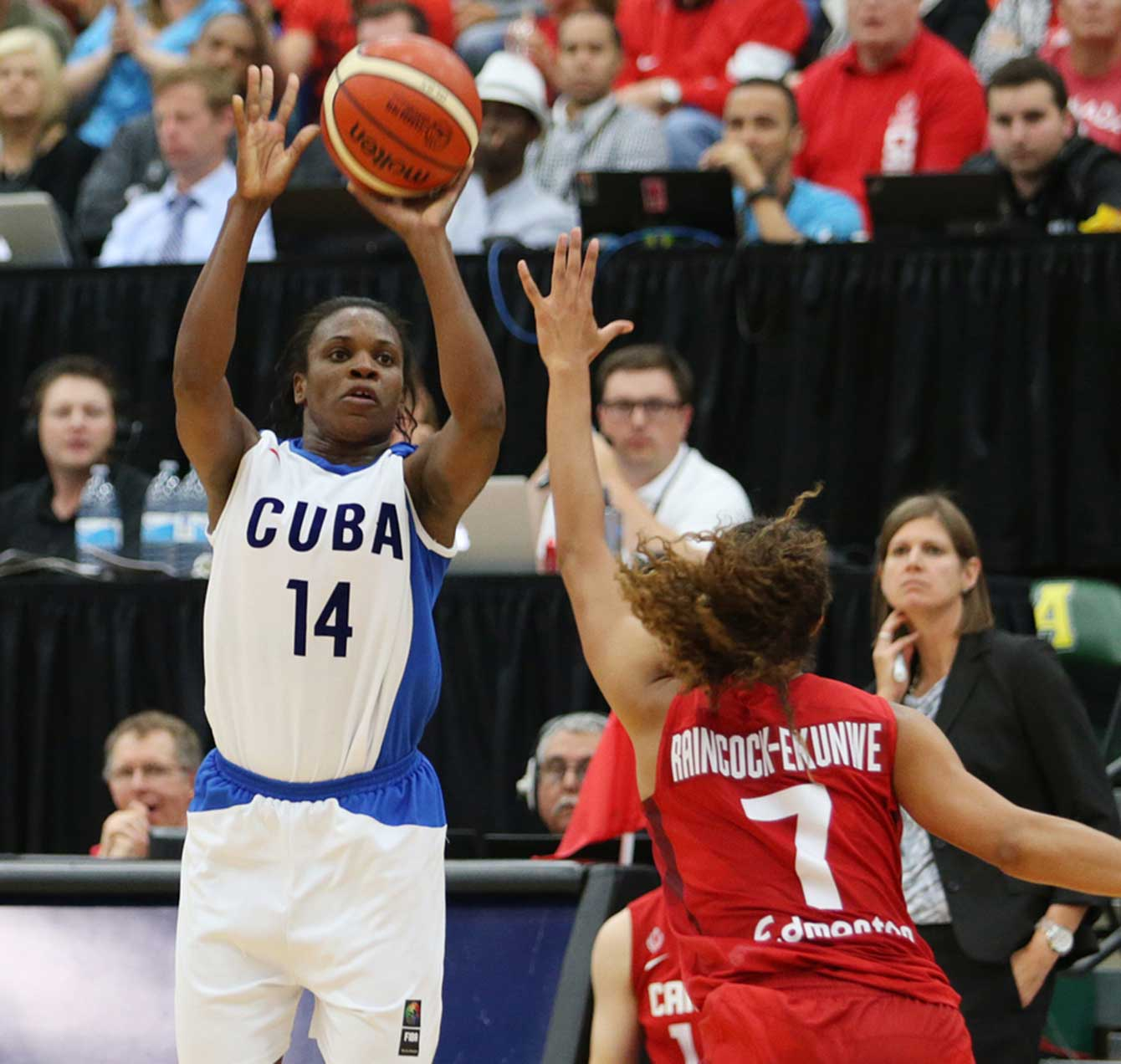 Leidys Oquendo was a big reason Cuba stuck around in the gold medal game.