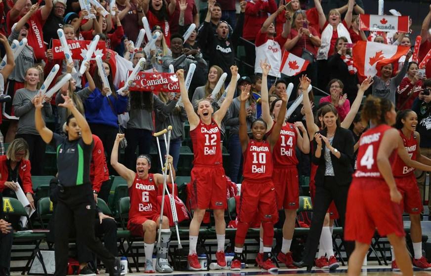 Canada celebrates (Photo: FIBA)