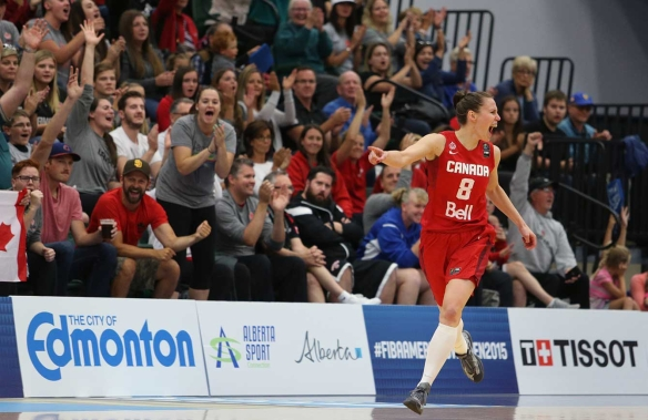 Captain Kim Gaucher (Photo: FIBA)