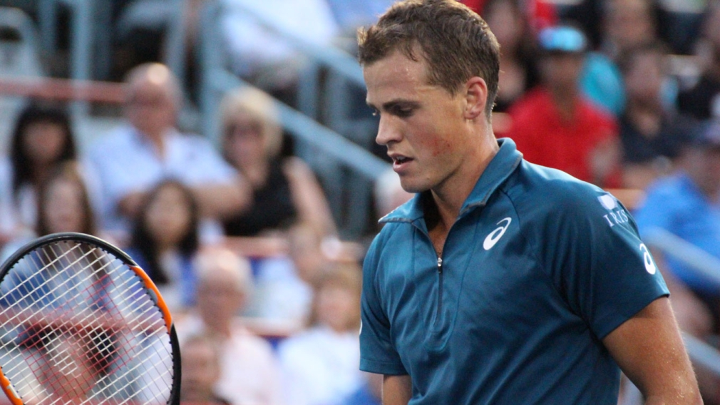 Canada's home court success relies on doubles after Pospisil exit
