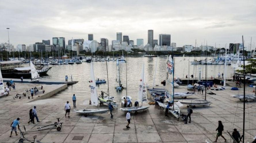 Rio 2016 sailing venue (Photo: Rio2016.com).