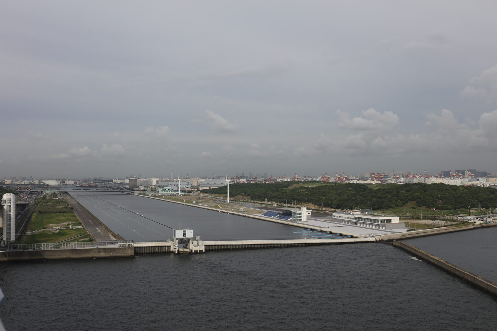 Scenic Sea Forest Waterway in Tokyo