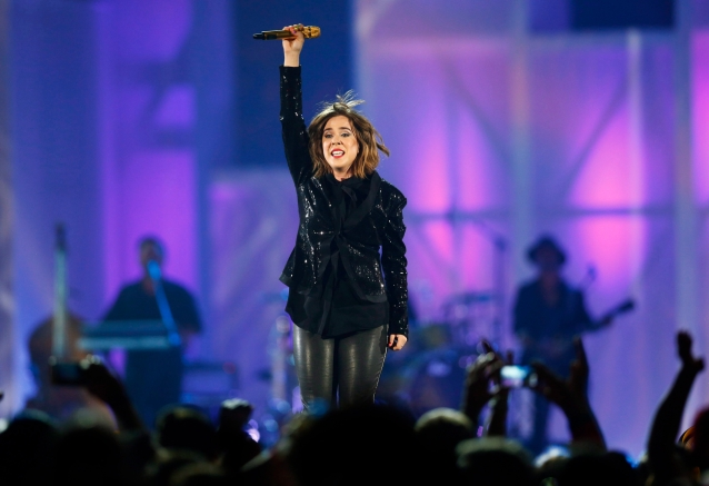 Serena Ryder performs during the closing ceremony at the Pan Am Games in Toronto