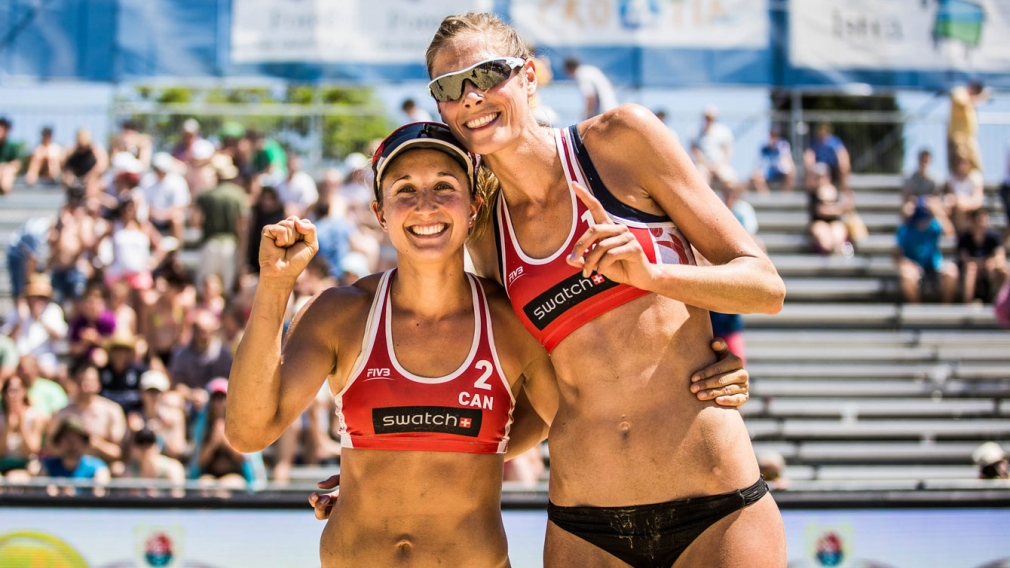A historic beach volleyball season continues with FIVB World Tour Finals