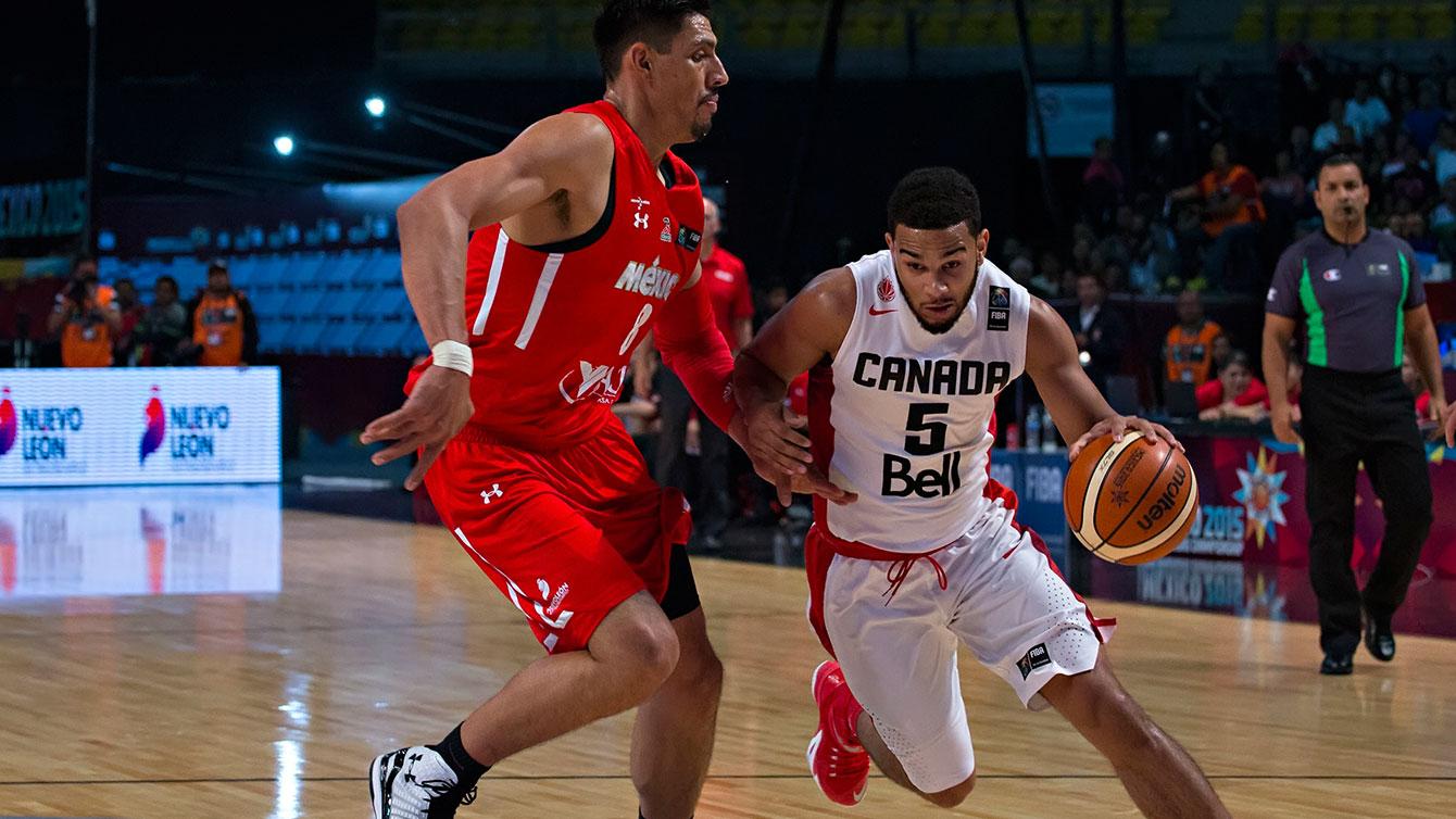 Cory Joseph at 2015 FIBA Americas (Photo: FIBA).