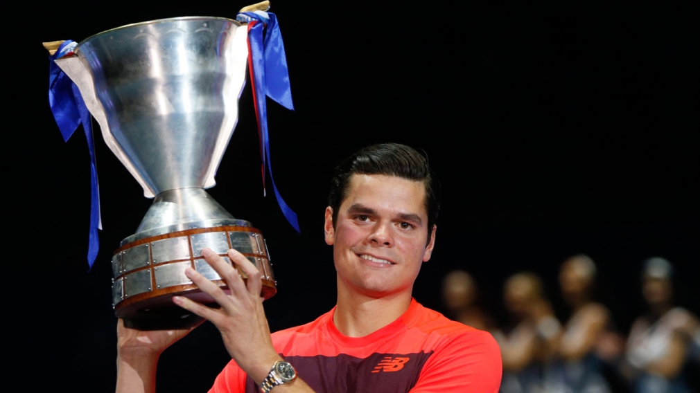 Raonic wins his seventh ATP tour title in St. Petersburg