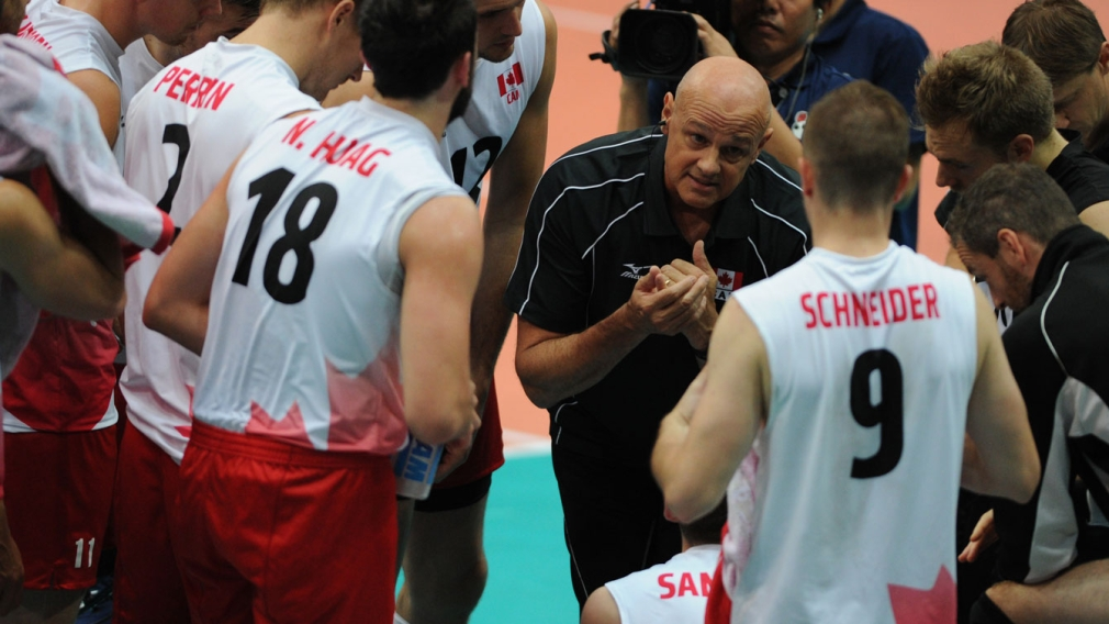 Volleyball coach Hoag juggles fitness and competition ahead of Rio