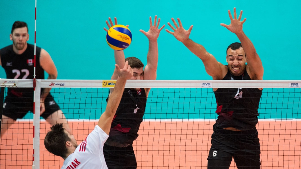 Volleyball team looking for Olympic berth at last chance qualifier