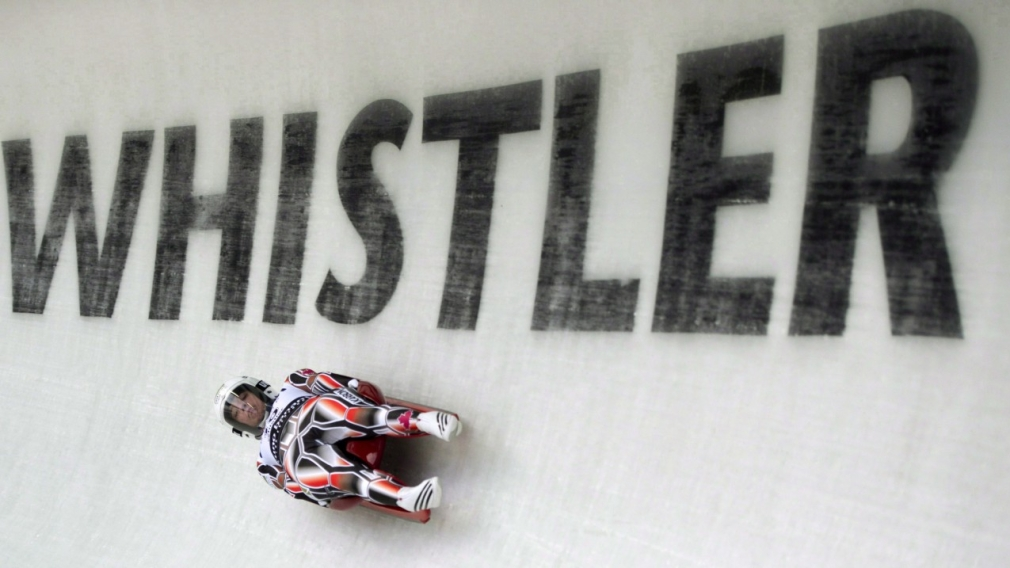 Snow delays sleds, creates long wait for lugers in Whistler