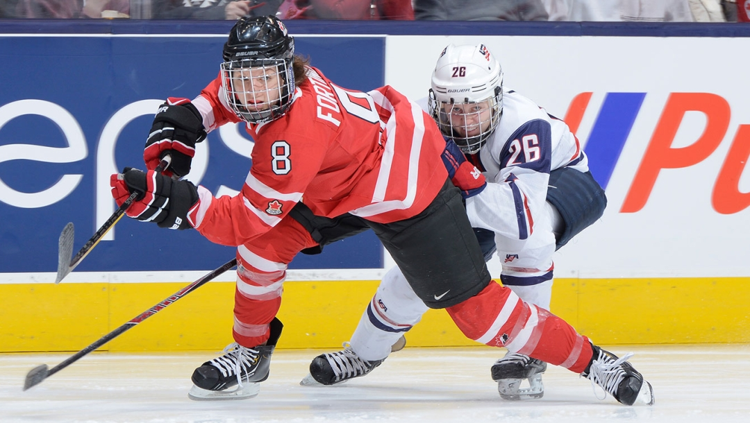 Team Canada - Laura Fortino