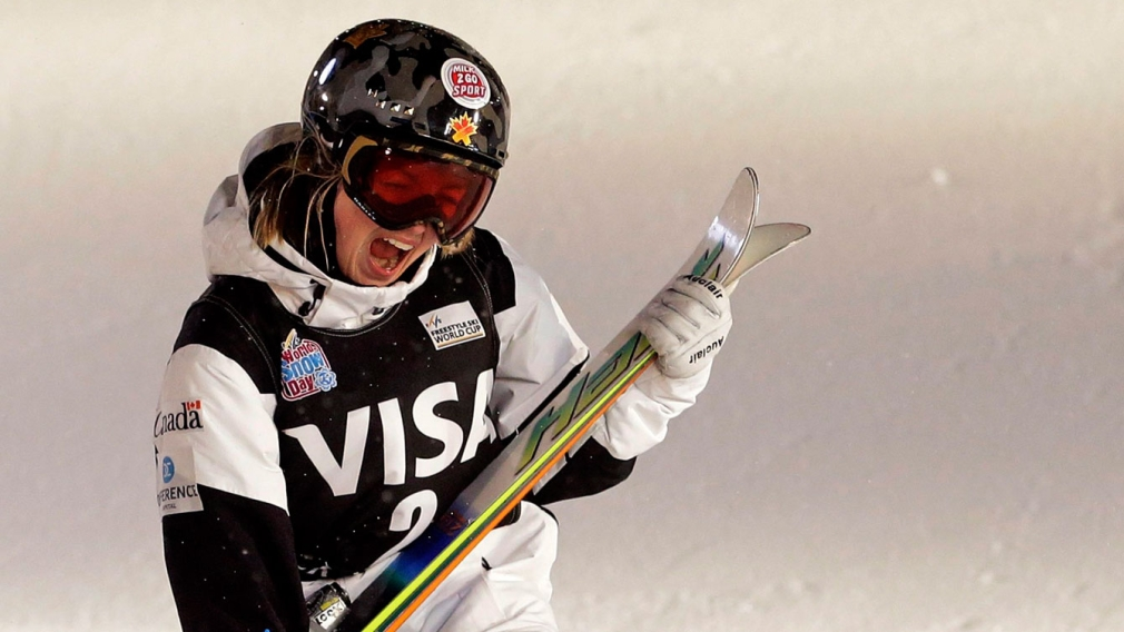 Skier Justine Dufour-Lapointe is a real-life comic-book hero