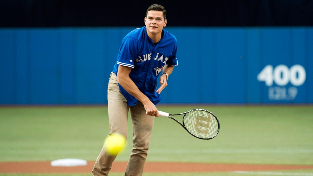 Olympians, Olympic hopefuls pay tribute to Blue Jays
