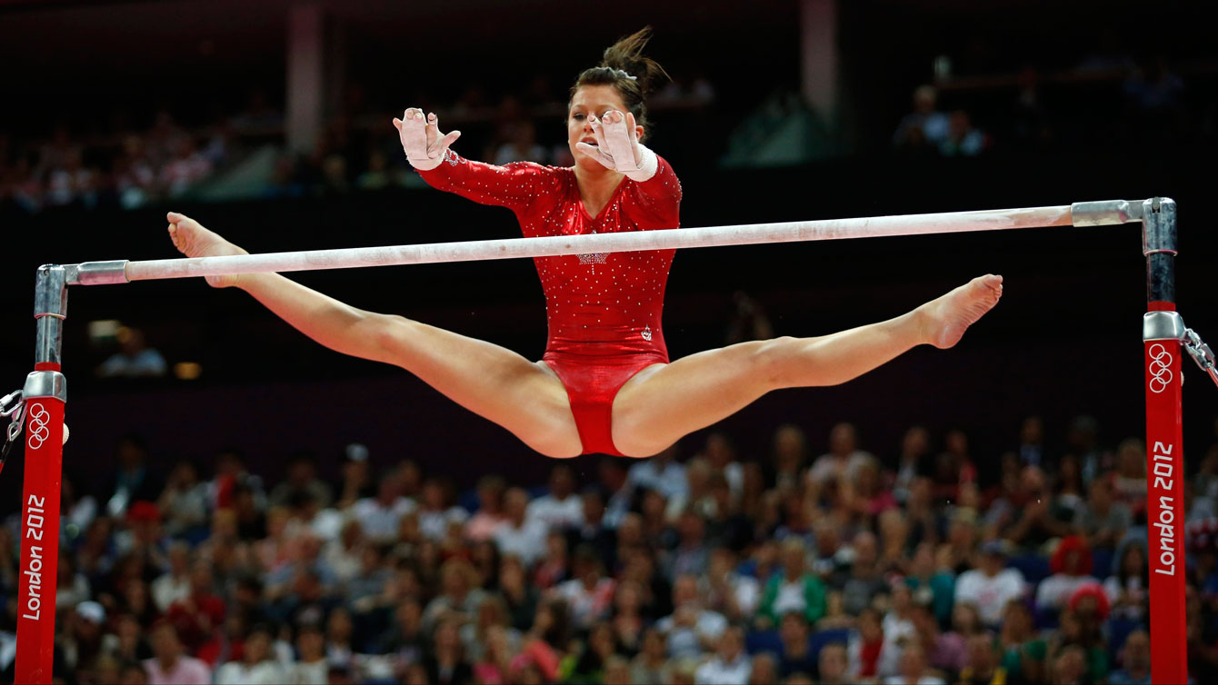 Brittany Rogers competes for Canada at the London 2012 Olympic Games.