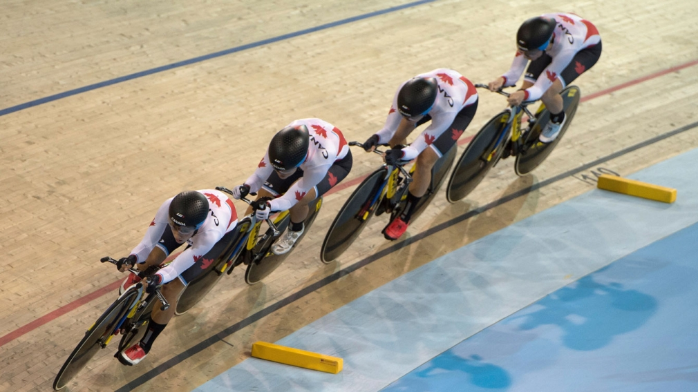 Canadian women take team pursuit World Cup title in Colombia