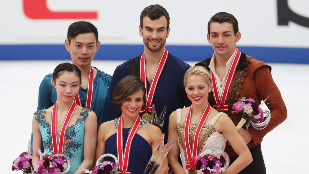 Duhamel and Radford skate to Grand Prix pairs gold in Japan