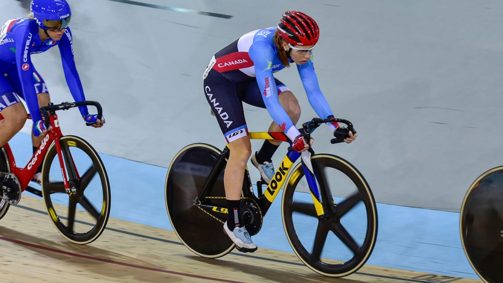 Beveridge golden, Canada takes three medals at track cycling World Cup in New Zealand