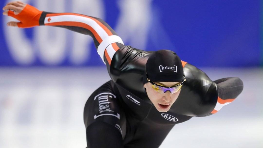 Team Canada - Alex Boisvert-Lacroix skating