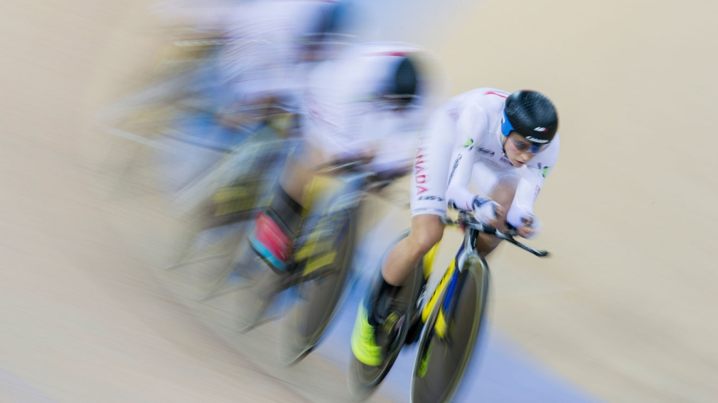 Canada wins team pursuit gold and overall World Cup title in Hong Kong