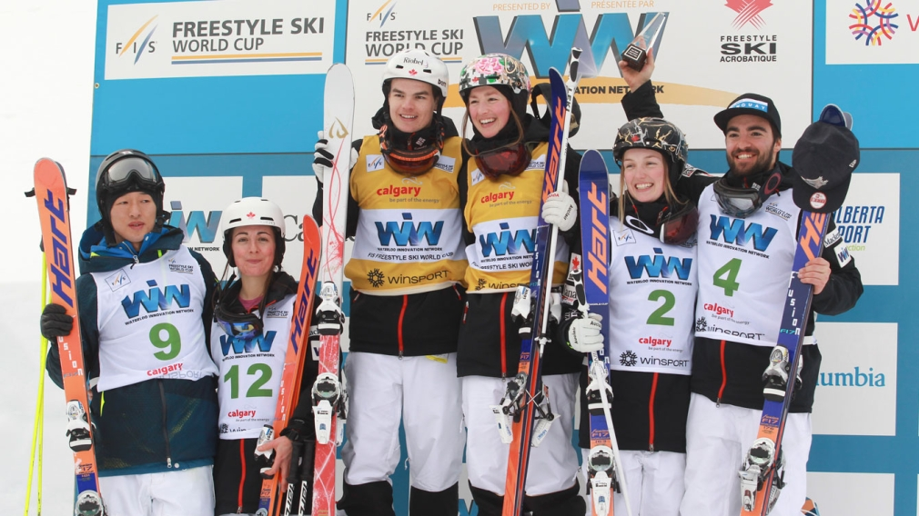 Canada takes five of six moguls World Cup medals for second straight week
