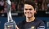 Raonic beats Federer, wins Brisbane International