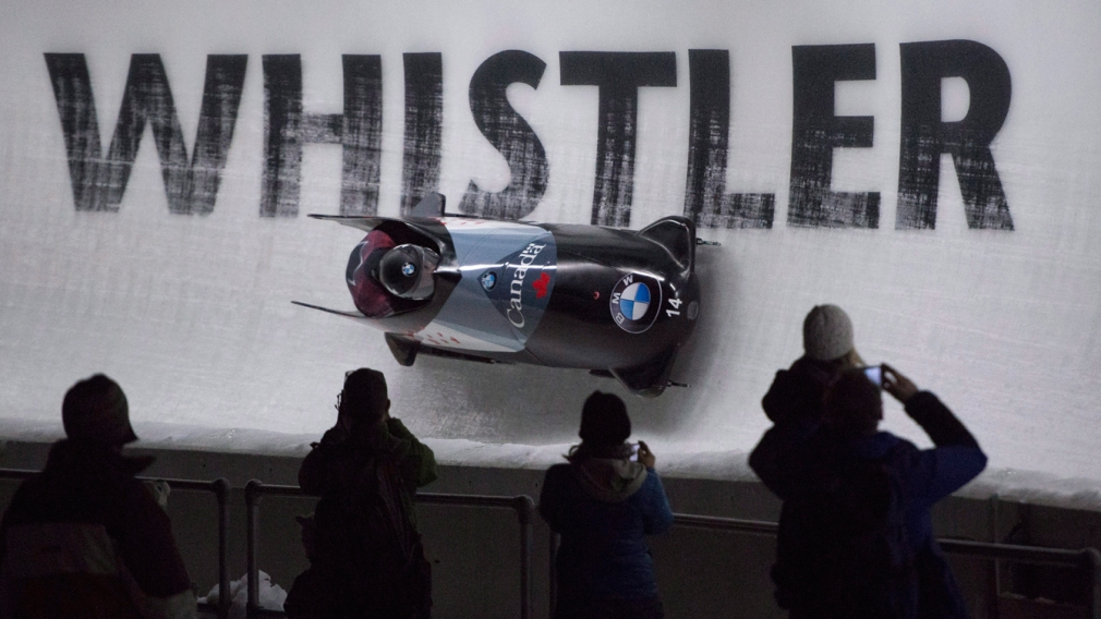 Whistler ice track hosts bobsleigh and skeleton World Cup opener