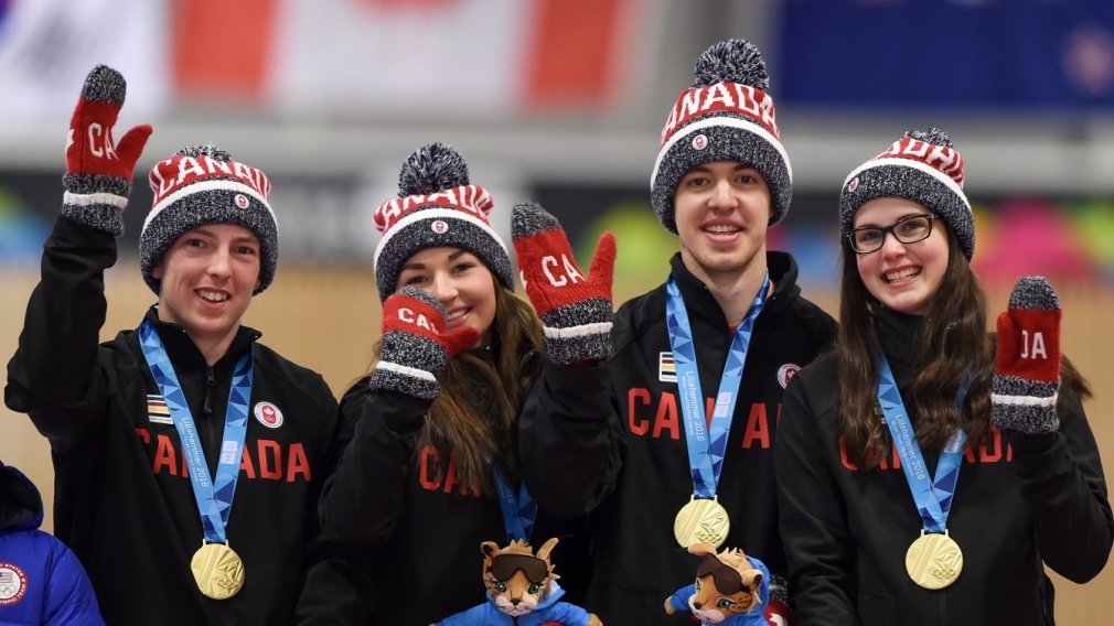 Curling gold for Team Canada at YOG