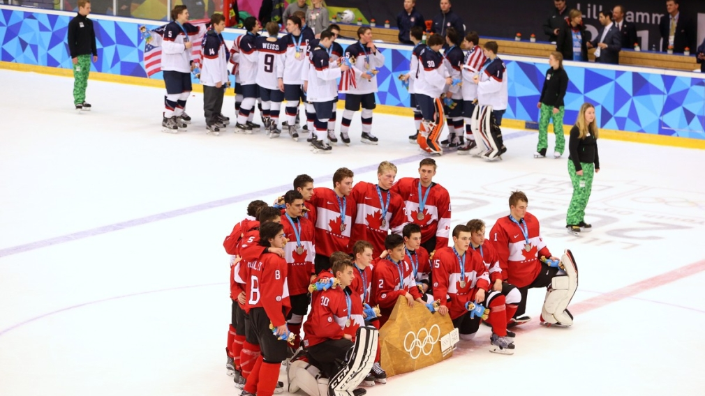 Team Canada ice hockey settles for silver at Youth Olympic Games