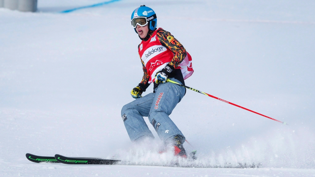 Serwa races to World Cup silver at Olympic ski cross test event
