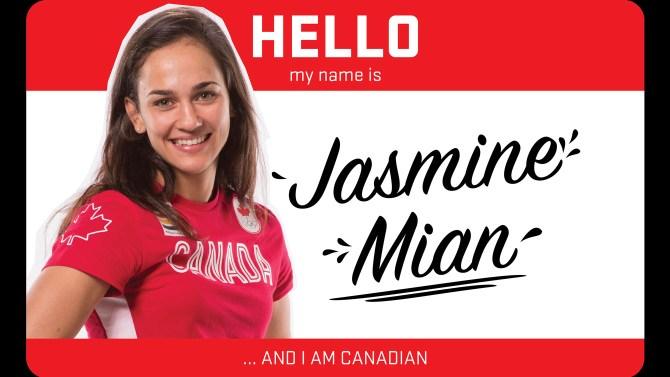 Hi, my name is Jasmine Mian and I wrestle