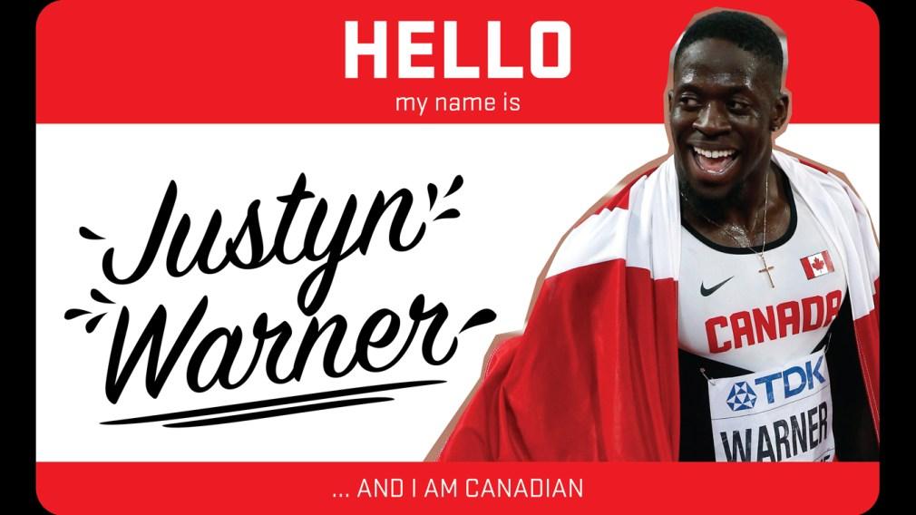 Hi, my name is Justyn Warner and I run track