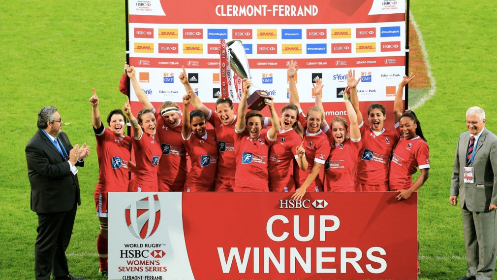 Canada beats Australia to win women's sevens series rugby title in Clermont