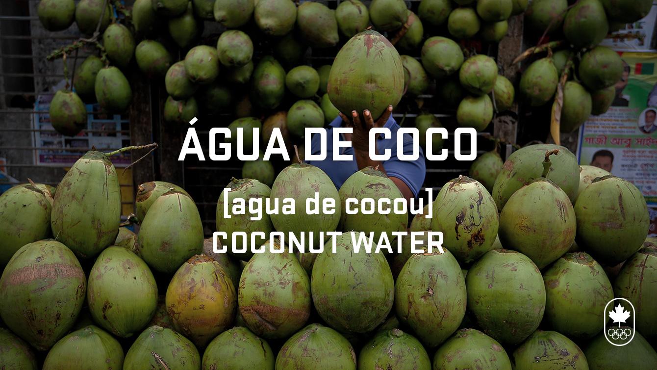 coconut water portuguese