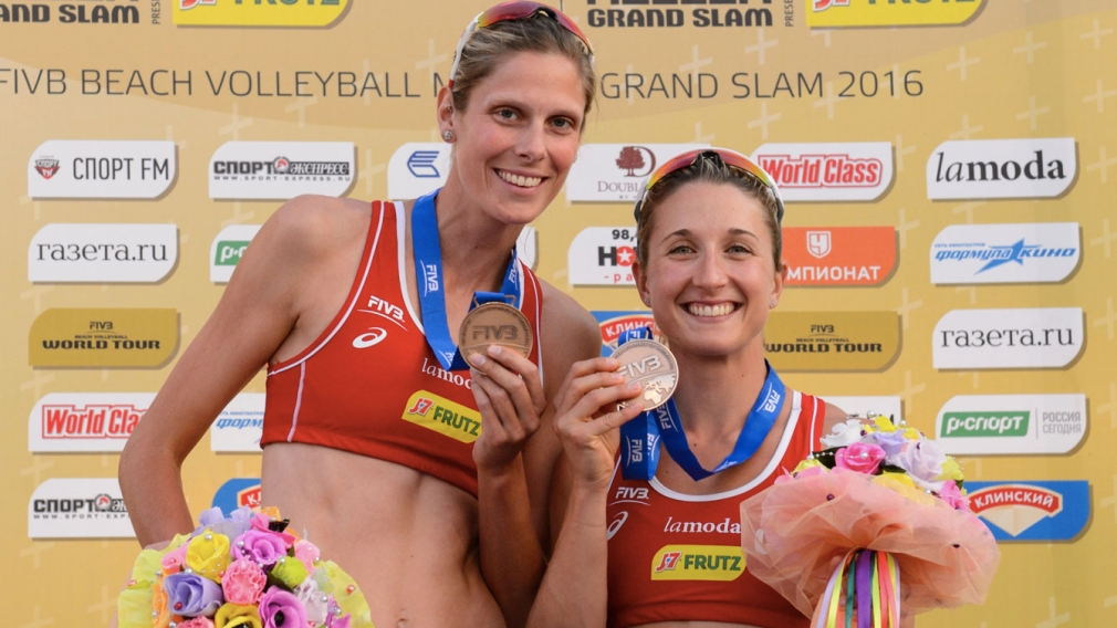 Bansley & Pavan back in form with beach bronze in Moscow