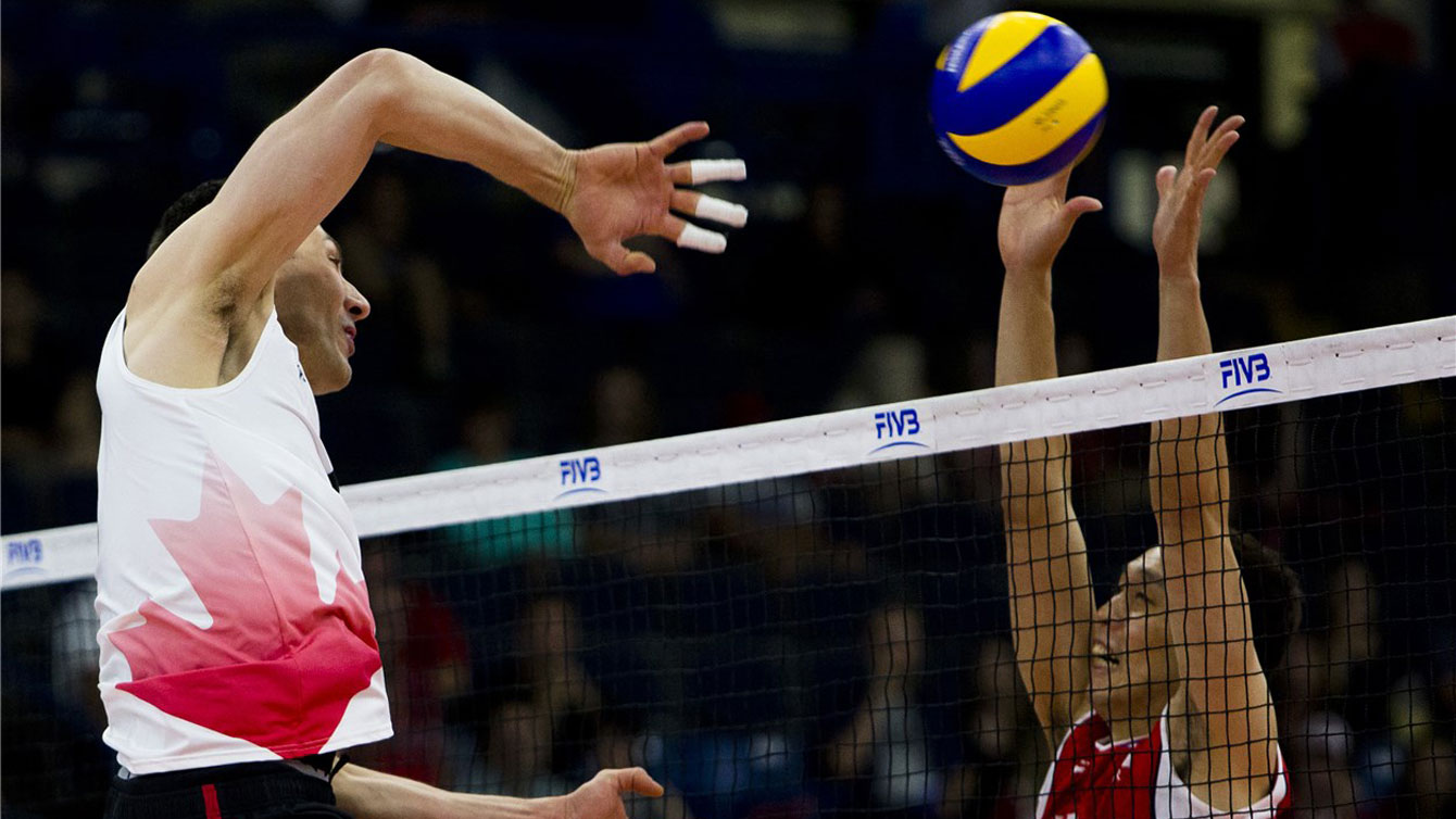 Canada vs Korea, 2016 FIVB Volleyball World League / Photo: FIVB