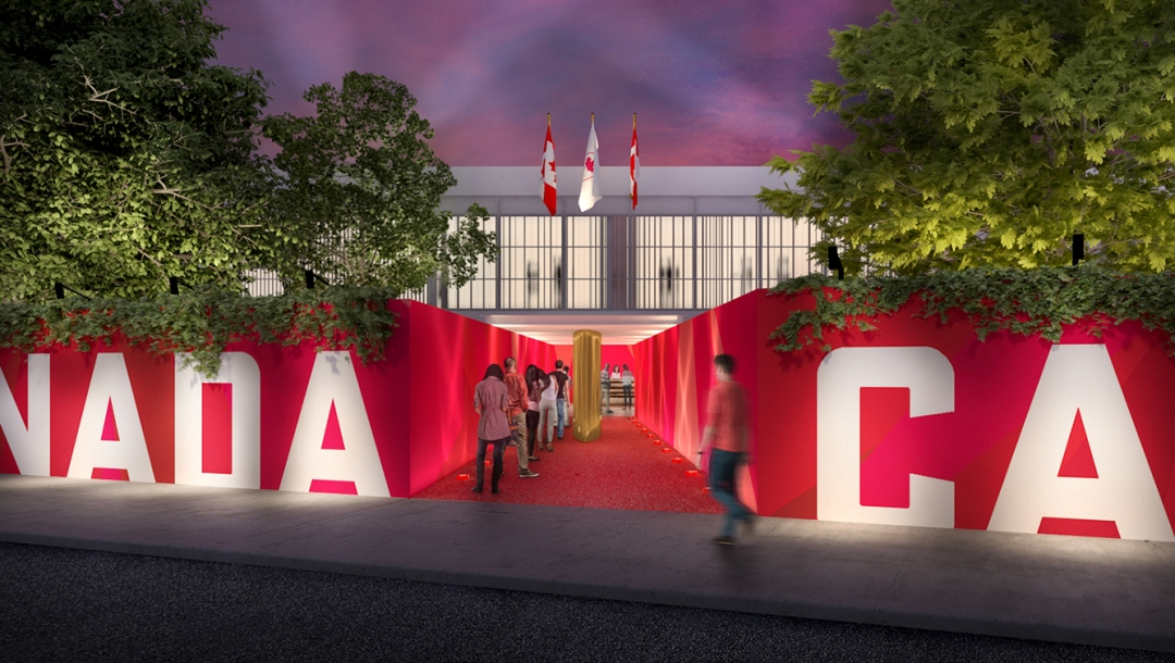 Rio 2016: Canada Olympic House renderings