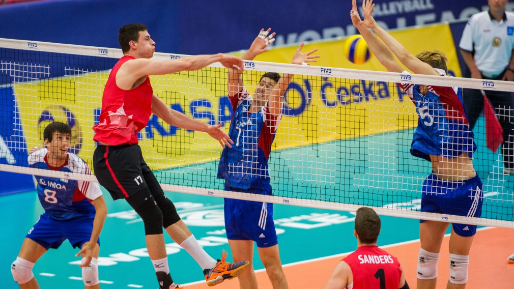 Canada opens FIVB World League weekend with three wins in Group 2