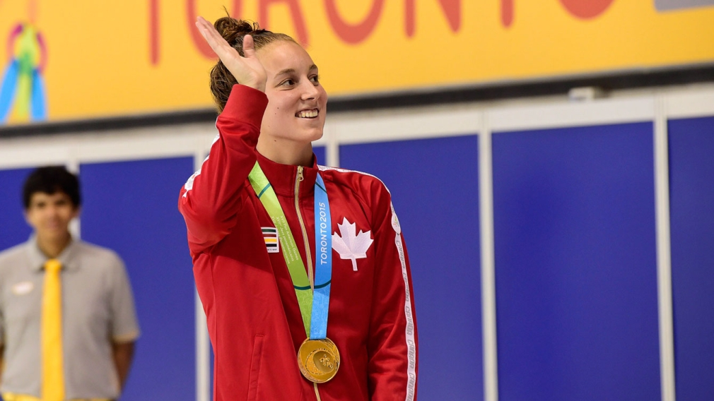 Canadian athletes celebrate HBC bursary program