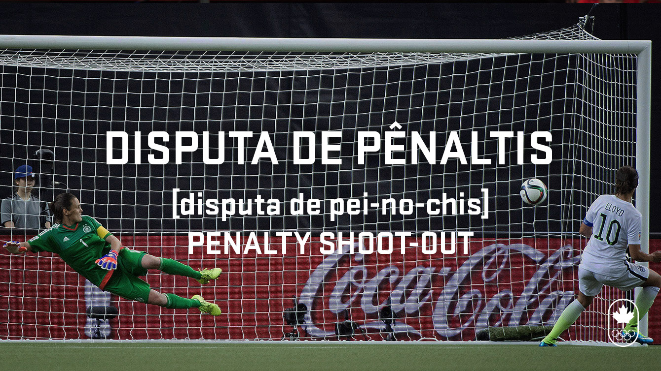 Penalty shoot-out phonetic, Carioca Crash Course football edition