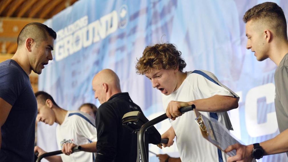RBC Training Ground athletes begin Phase 2 assessment