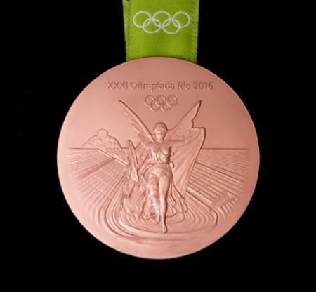 Rio 2016 bronze medal front