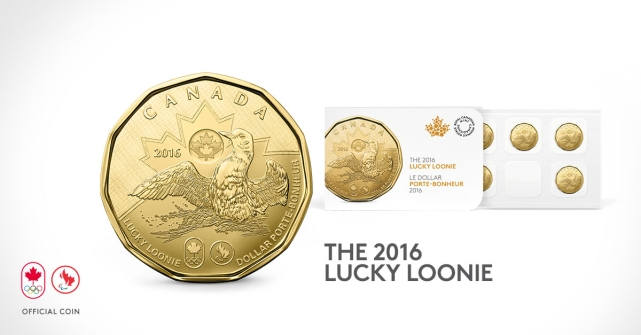 2016 Lucky Loonie