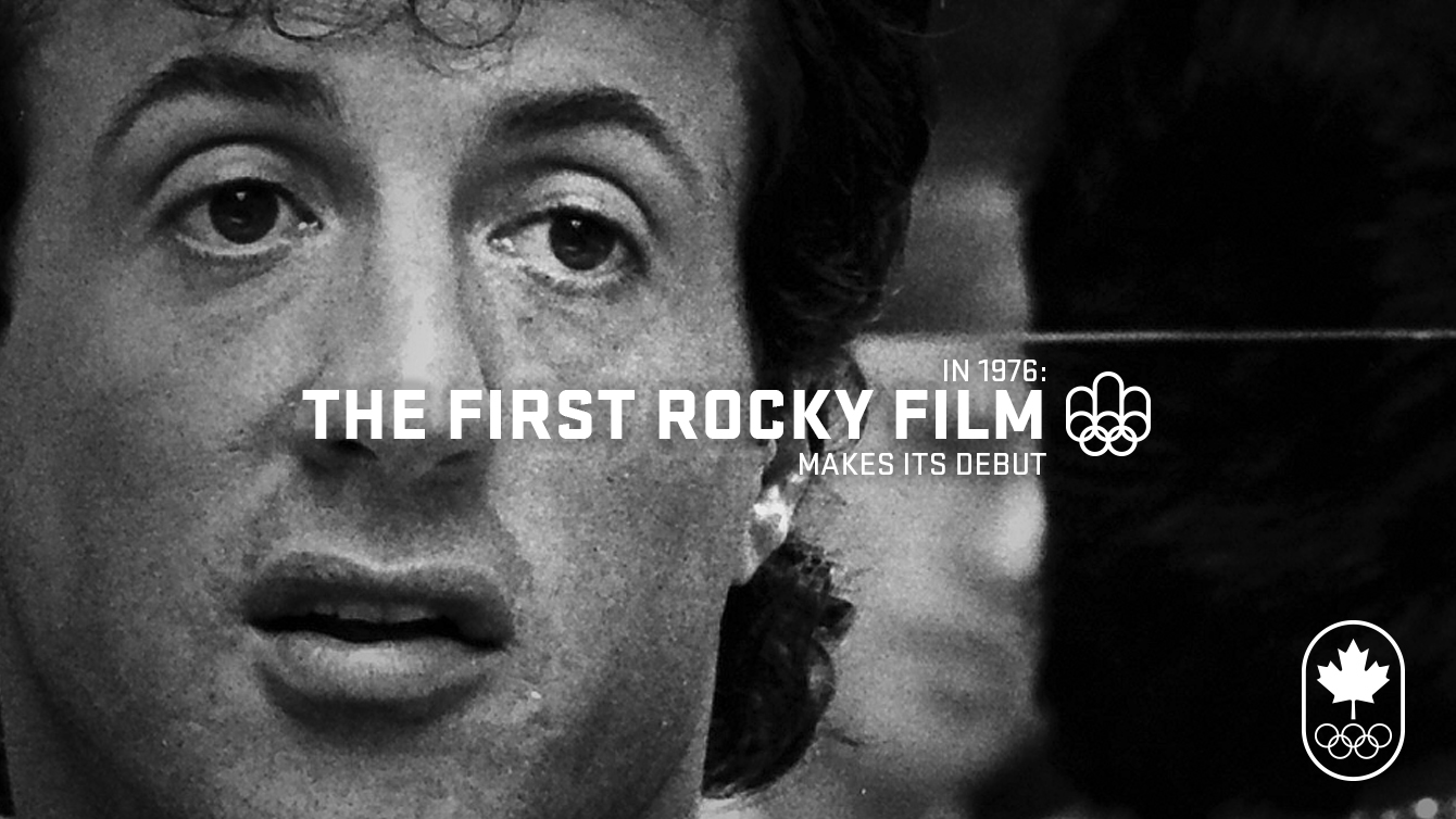 Montreal 1976: Rocky was released.
