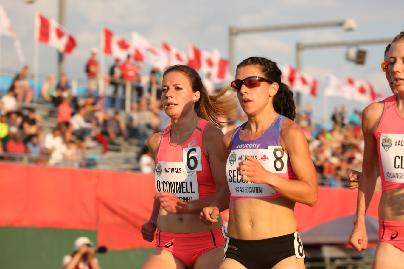 Jessica O'Connell running