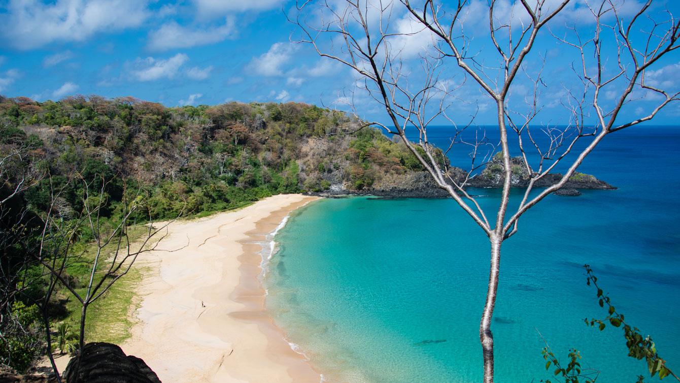 Sancho Bay, Fernando de Noronha, Brazil