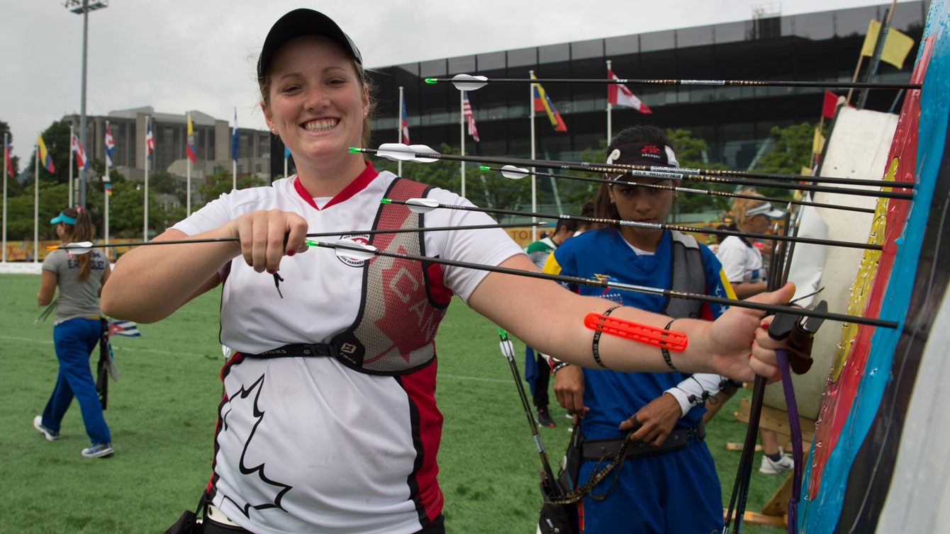 Georcy-Stephanie Thiffeault Picard at TO2015 Pan Am Games.